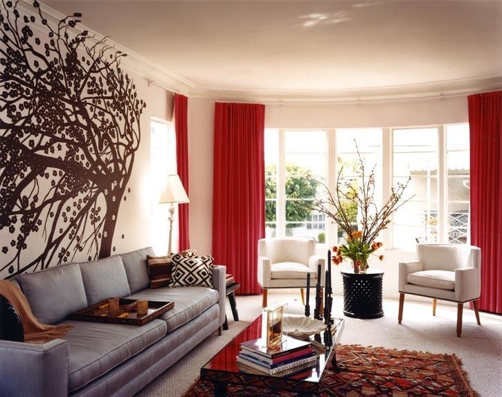 Beautiful Pareti Rosse Soggiorno Photos - Modern Home Design ...