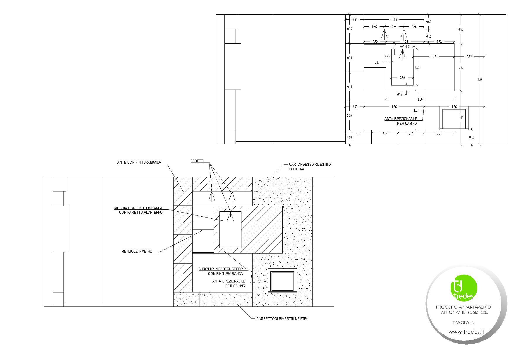 Prospetto camino category progetto basic casa moderna with for Progetto casa moderna nuova costruzione